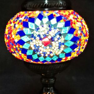 Turkish Mosaic Lamp With Beads
